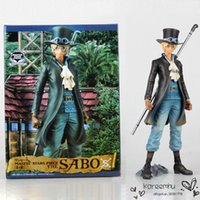 army staff - Anime One Piece Sabo Chief of Staff of the Revolutionary Army PVC Action Figure Model Collection Toy CM Boxed