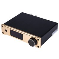 Wholesale SMSL USB Coaxial Optical Bass Digital Power Amplifier with Remote Control for computer LCD TV Set Top Box Blu ray HD DVD