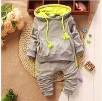 baby jogging suit - Kids Baby sport Suit Boys Long Sleeve T Shirt Pants girls jogging casual Clothes Children clothing set kids hoodies tracksuit