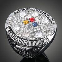 Envío de la gota 2008 anillos deportivos de alta calidad anillos de campeonato Declaración de gran tamaño al por mayor regalo