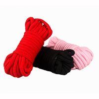 Wholesale Bondage Restraints m Feet Long Japanese Rope Role Fun Game Play Kit Clothing Accessory AM0014