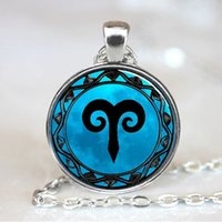 aries zodiac symbols - Aries Blue Moon Zodiac Symbol Pendant Aries Zodiac Necklace Astrology Horoscope Jewelry Necklace Pendant with Ball Chain Included