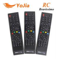 Wholesale 5pcs Remote Control for AZbox Bravissimo satellite receiver RC remote controller bravissimo post order lt no track