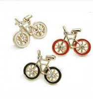 bicycle earrings - 2016 Hot selling Fashion Jewelry for woman Vintage Cute Bike Design Earrings Love Bicycle Earring