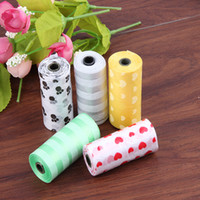 Wholesale New Arrival rolls dog waste bag rolls storage device bone type box Pet garbage bags dog waste bag bone dispenser
