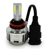 Wholesale 72W LED H11 H8 H9 Car Headlight Lamp Fog Lamp LM K Head Lamps White FOR CAR headlamp fog light