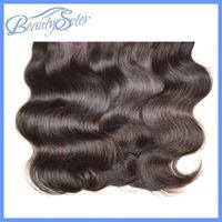 Wholesale Cheap Brazilian Human Hair Extensions Body Wave Color1B Kg Bundles g Bundle Human Hair Extensions Weaves Grade A