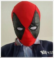 adult marvel costume - Drop shipping marvel deadpool mask for adults or children Full Face Mask Halloween Cosplay Costume