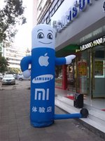 balloon shops - mobile phone shop decoration inflatable pillar for advertising with logo