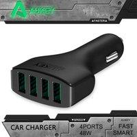 air car technology - Aukey A W Port USB Car Charger with AIPower Tech Technology for iPhone iPad Air Samsung Galaxy S6 S6 Edge