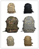 Wholesale Outdoor camping camouflage backpack movable transport backpack Army fans Tactical Backpack mandrake green Large Tactical Backpack L Sport
