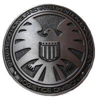 active agents - New Super Marvel Comics AGENTS OF SHIELD Pewter Finish Metal BELT BUCKLE man Big Belt Buckle Buckles High Quality