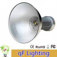 Wholesale 100W LED High Bay Light V Industrial LED Lamp Degree High Bay Lighting LM Led Lights for Workshop Factory CE ROHS
