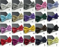 Wholesale Hot High Quality Fashion Man and Women Printing Bow Ties Neckwear Children Bowties Wedding Bow Tie
