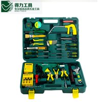 Wholesale Excellent Quality DL1043G set DELI Household multifuncional repair tool set New Arrival