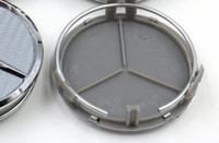 badge mercedes benz - Wheel Center Caps Hub Cover for MERCEDES Emblem Carbon Fiber Car Badge for Mercedes mm Car Emblem DHL free from alisy