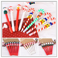 Wholesale sales Christmas gift Christmas goods School students and children small gifts Soft ceramics Christmas ball pen