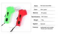 Wholesale Green Red Pet Food Catapult Cat Toy Dog Snacks Transmitter Dog Toy Interactive Puzzle Exercise GP151220