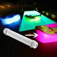Wholesale 3 V mA Aluminum USB Chargeable LED Tactical Flashlights Fishing Equipment Torch Light LED Inflatable Air Sleep Sofa Couch LED
