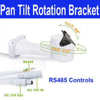 Wholesale CCTV Bracket PTZ Electrical Rotating RS485 Connection Waterproof Outdoor Pan Tilt Rotation Motor Built in