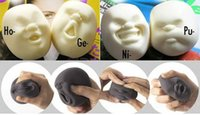 Wholesale Anti stress Human Face Stress Relieve Pressure Vent Wreak Reduce Tool New Funny Toy Adult Relax Gift