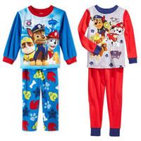 Cheap baby kids girls paw patrol pajamas Best paw patrol nightgown clothes clothing