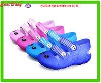 Wholesale Children s Cartoon Smiling Face Shoes New Summer Sandals Slippers Slip Resistant Shoes Size HDX026 kids Sandals