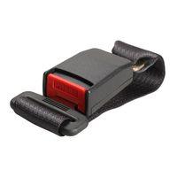Wholesale Car Vehicle Seat Belt Extension Extender Strap Safety Buckle Black New H033