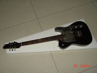 Wholesale best Custom Shop John Tele Electric Guitar Rosewood FB Black TL OEM Available Cheap in stock