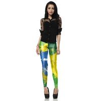 ankle pants price - 2016 designer D Print Fitness Leggings For Women Pants fashion elastic Leggins casual pants scrawl leggings price mixed order