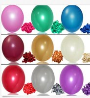 Wholesale Party Decoration x quot Colorful Pearl Latex Balloon Celebration Party Wedding Birthday Décor Marriage Room Decoration Pearl Round Balloon