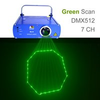 Wholesale SHINP DMX Green Laser Lights Beam Master Slave Profession Party DJ KTV Home Projector Bar Stage Lighting SL