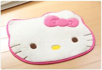 Wholesale cm hello kitty home floor mats Cartoon carpets for Living room non slip doormats car floor mat tapetes