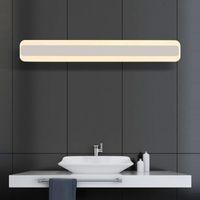 acrylic vanity - 2016 stylish mm acrylic mirror wall light in bedroom V W led bathroom lamp bedroom vanity lighting