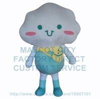 Wholesale Cute Advertising Mascots - cute rain white cloud baby mascot costume cartoon cloud advertising theme cosply costumes carnival fancy dress kits 2671