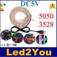 background strip - SMD3528 SMD5050 USB Cable V LED Christmas stripe light lamp cm cm cm LEDs Flexible Strip Light TV Background Lighting Kit