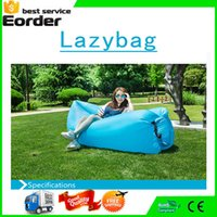 Wholesale Air Bags Lazy Sofa Fast Inflatable Sofa Bed Lazy Lazybones Beach Lounge Foldable and Washable Sleeping Bag