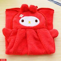 Wholesale Fasion Cute Children Hand Towel Cartoon Animal Cat Elephant Kitchen Bath Hanging Wipe Hot Good Quality