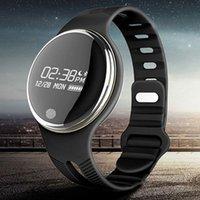 Wholesale New E07 Smart bracelet IP67 Waterproof Swimming Bluetooth Pedometer Sport Smart Wristband Fitness Tracker Anti Lost