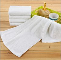 Wholesale rectangular Shape and Home Gift Beach towel Hotel towel white Sports towel Kitchen Use cotton bright colored bath towels