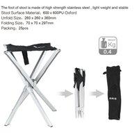 Wholesale Camping Desk Folding Stool Fishing Chair Urltralight Mini Folding Stool BRS D2