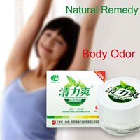 Wholesale Antiperspirant Deodorant Bromhidrosis Anti Body Odor Cream Body Odor Remedies Natural Herbs Axillary