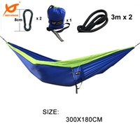 Wholesale 2016 New kgs Double Person Camping Hammock kg Loading T Lightweight Parachute Nylon Tear Resistance