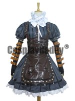 Wholesale Alice Madness Returns Alice Steamdress Gorgeous Version Cosplay Costume
