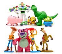 Wholesale Toy Story Full Collection Sheriff Woody Buzz Lightyear Jessie Hamm Rex Slinky Dog Mr Potato Head Doll Action Figures Play Set