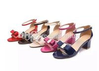 Wholesale Sexy Red Sandals Low Heel - sexy woman Famous Designer Casual Sandals summer female footwear Top brand Top brand Sandals Platform Height 4.5cm Material Genuine Leather