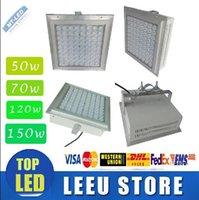 Wholesale 4 waterproof IP65 W W W W W LED Canopy Lights Bridgelux LED High Lumens lm w Gas Station Light Outdoor ceiling down Lights