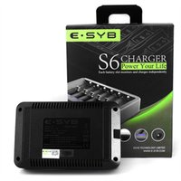 aa rechargeable batteries and charger - 100 authentic S6 rechargeable battery charger fit Ni MH and Ni Cd AAA AA battery