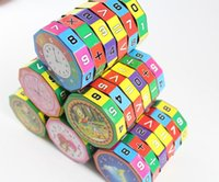 Wholesale Cube puzzle toys Creative arithmetic cube toys help children learn add subtract multiply and divide