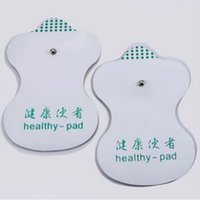 acupuncture aids - New pairs White Electrode Pads For Tens Acupuncture Digital Therapy Machine Massager Tools